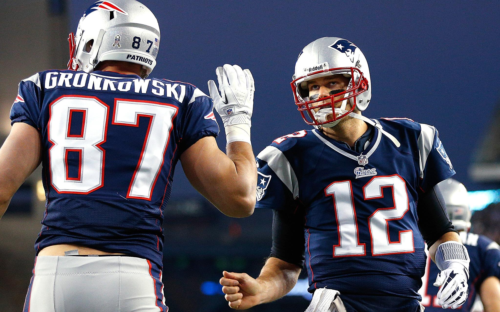 Gronkowski and Brady