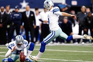 Sharon Ellman/AP Photo Dan Bailey kicked a 38-yard field goal in