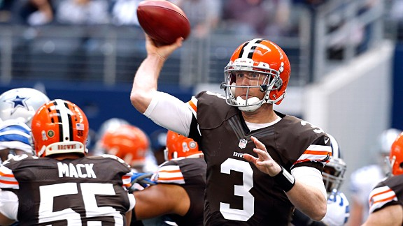 Browns' best option is to stick with Weeden