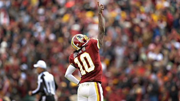 RG3 moves the Redskins past the Eagles