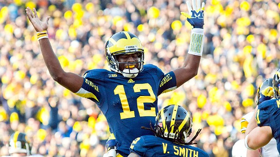 The player with No. 12 as of 12/12/12 might prove to be one of U-M's best to wear the jersey.