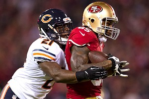Major Wright and Vernon Davis