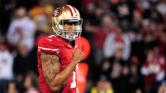 Looks like Kaepernick won over the 49ers