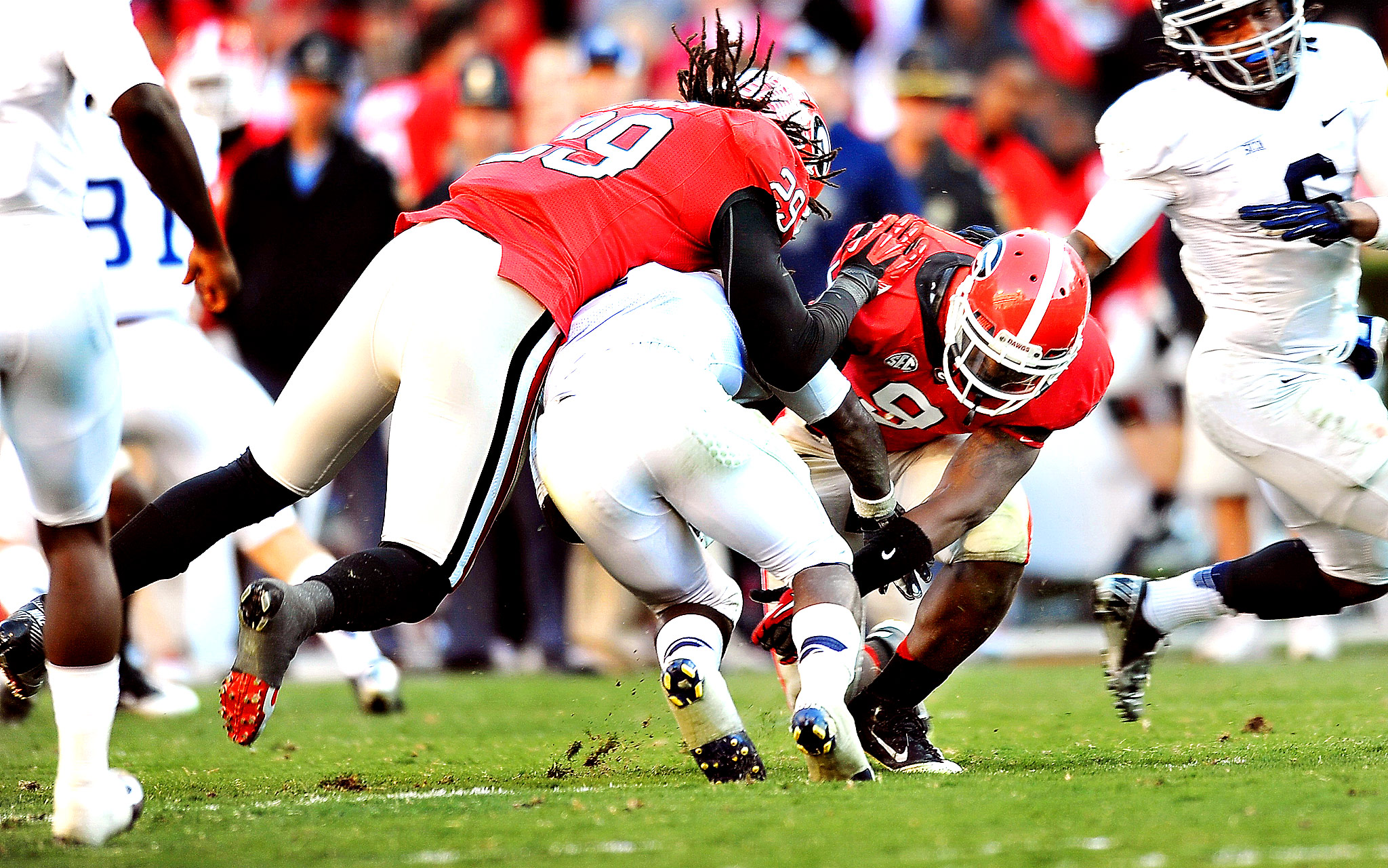 Jarvis Jones, Alec Ogletree