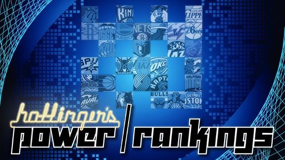 Hollingers Power Rankings