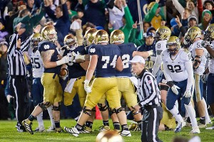 Pittsburgh vs. Notre Dame in 2012