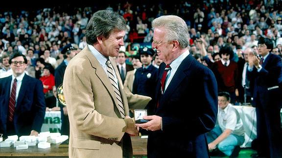 Bill Fitch  with the Boston Celtics