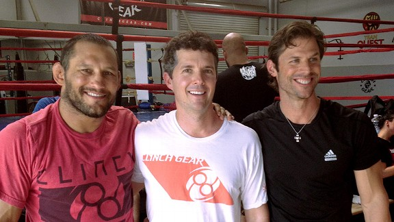 Dan Henderson, Sean Entin and Shawn Finnegan.
