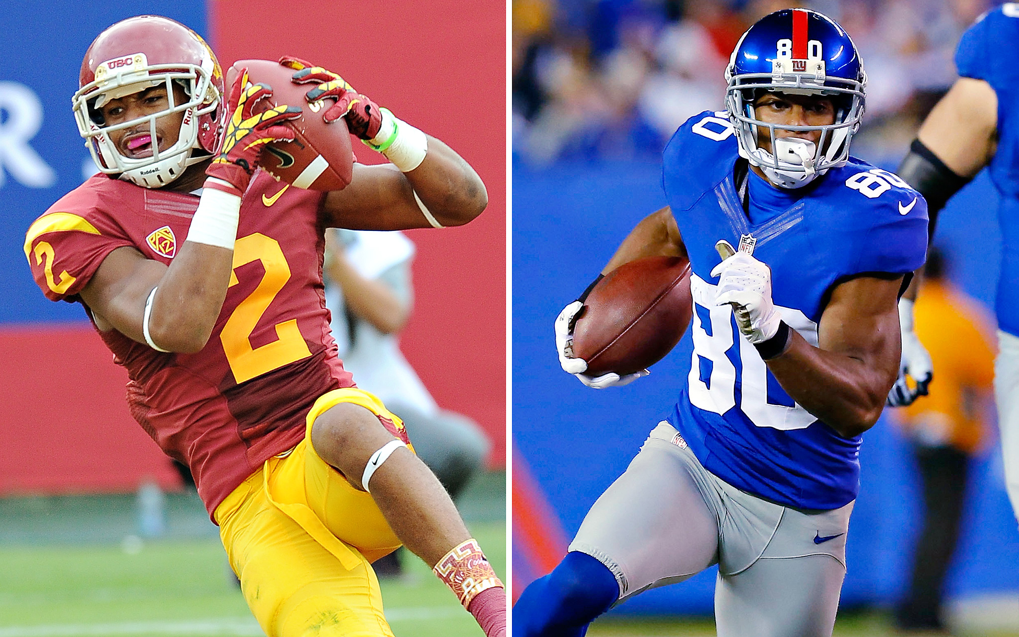 Robert Woods, USC/Victor Cruz, NY Giants