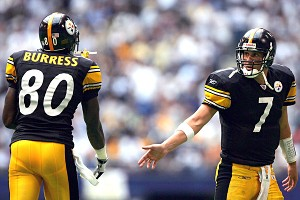 Plaxico Burress and Ben Roethlisberger