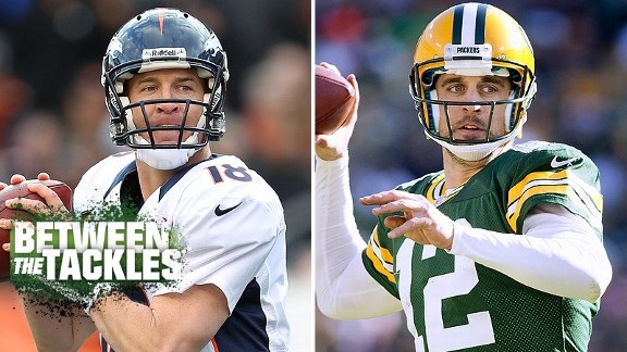 Peyton Manning and Aaron Rodgers