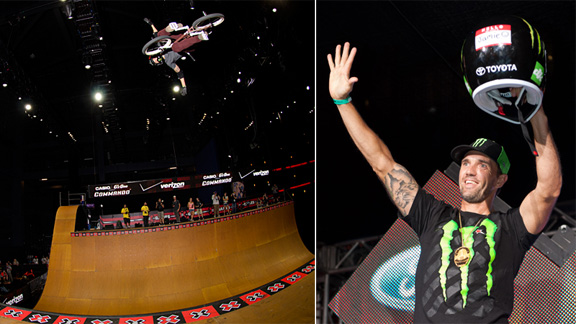 Jamie Bestwick, a two-time X Games turkey. a class=launchGallery href=http://espn.go.com/action/photos/gallery/_/id/8663292/image/1/dave-mirra-bmx-turkeys-x-games-three-gold-medals-rowiLaunch Gallery »/i/a