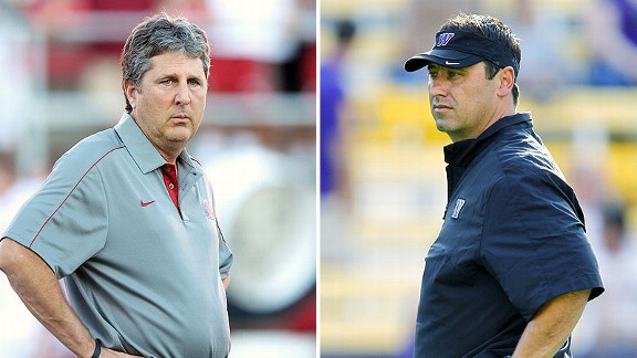 Mike Leach and Steve Sarkisian