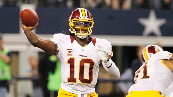 RG3 makes Redskins' hopes very real