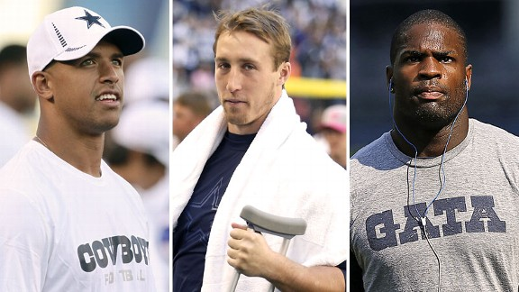 Miles Austin, Sean Lee, DeMarco Murray