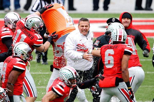 Ohio State Buckeyes Coach Urban Meyer Finishes Storybook