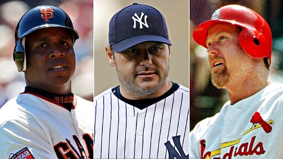 Barry Bonds/Roger Clemens/Mark McGwire