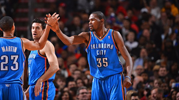 Windhorst: Thunder still rolling without Harden