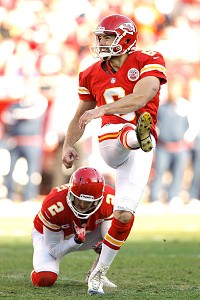 AP Photo/Ed Zurga Place-kicker Ryan Succop scored all of Kansas City's