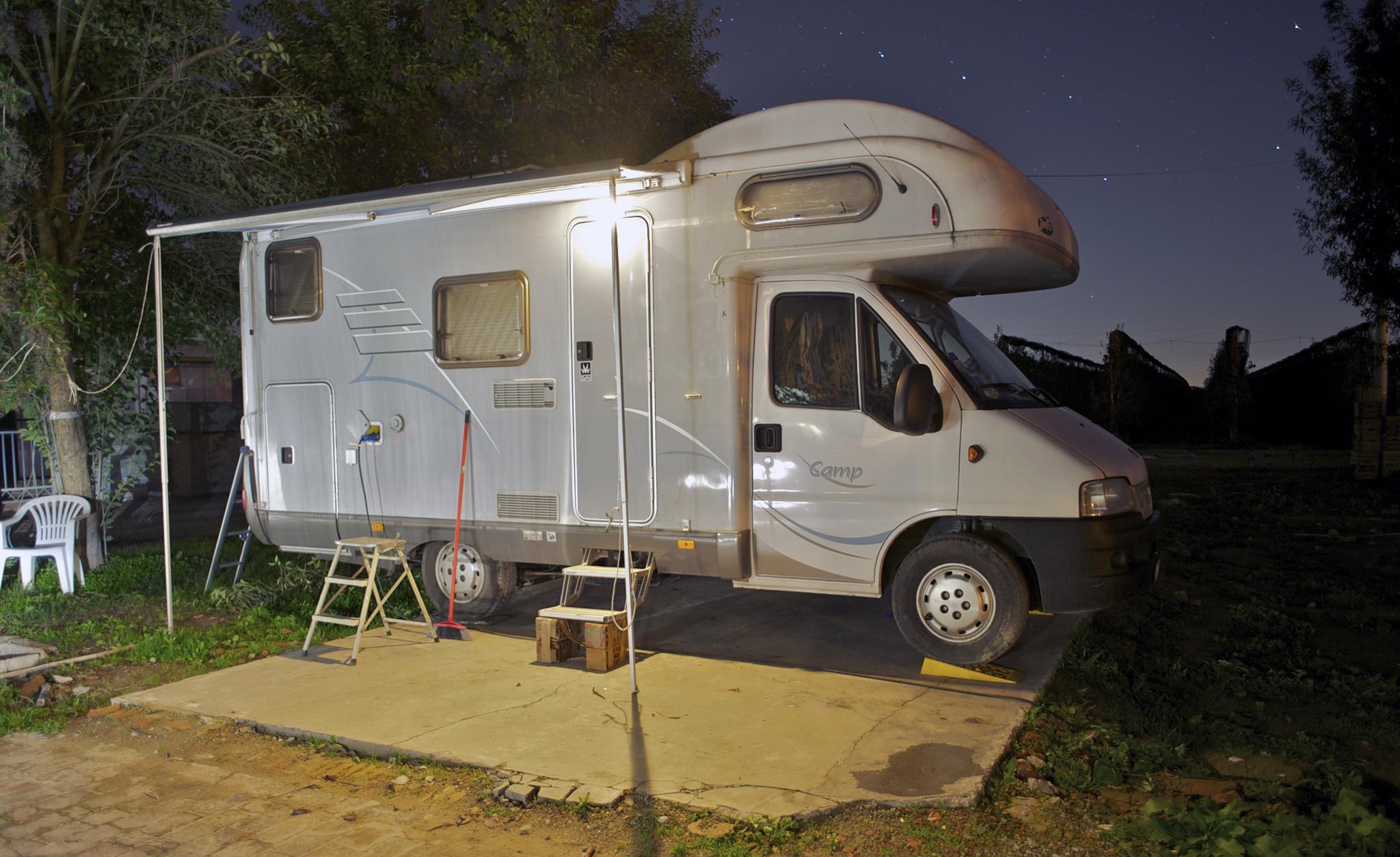 Lorenzo Magnoni's camper