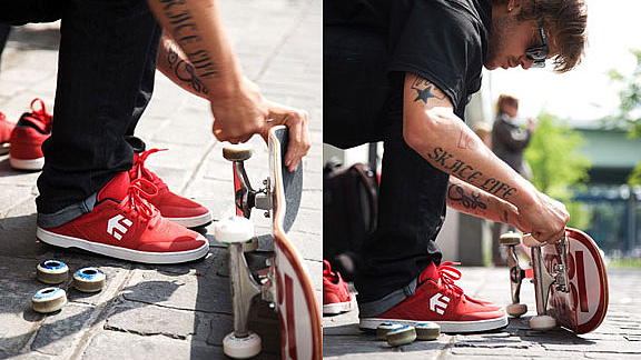 Etnies Footwear just released the
