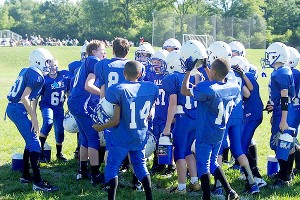 The Ladue Rams, a team in suburban St. Louis, made the playoffs.