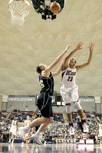 Maya Moore with UConn at Georgia Tech