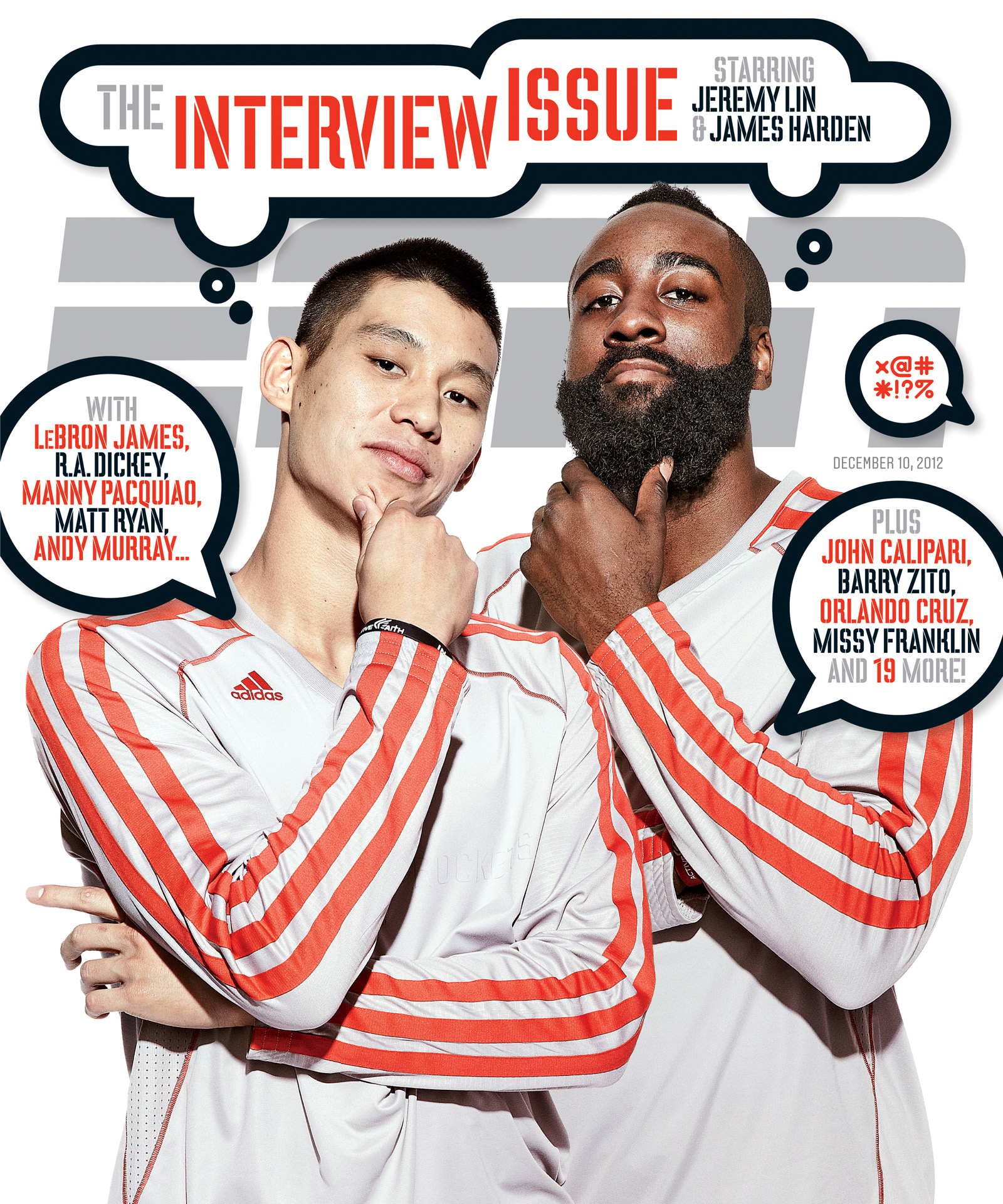 ESPN The Magazine's Interview Issue