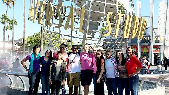 Penn State at Universal Studios