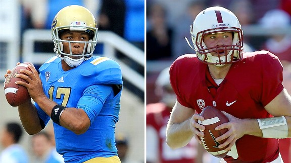 Brett Hundley and Kevin Hogan