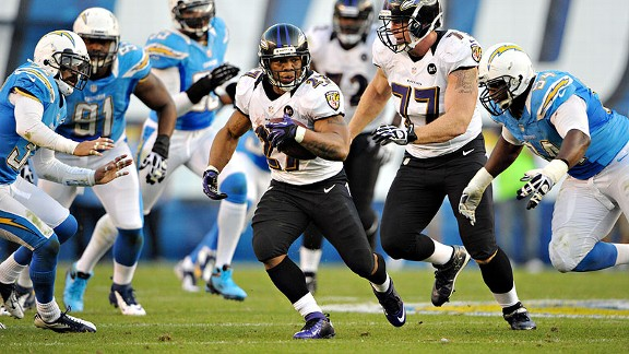 Ray Rice leads the way for Ravens