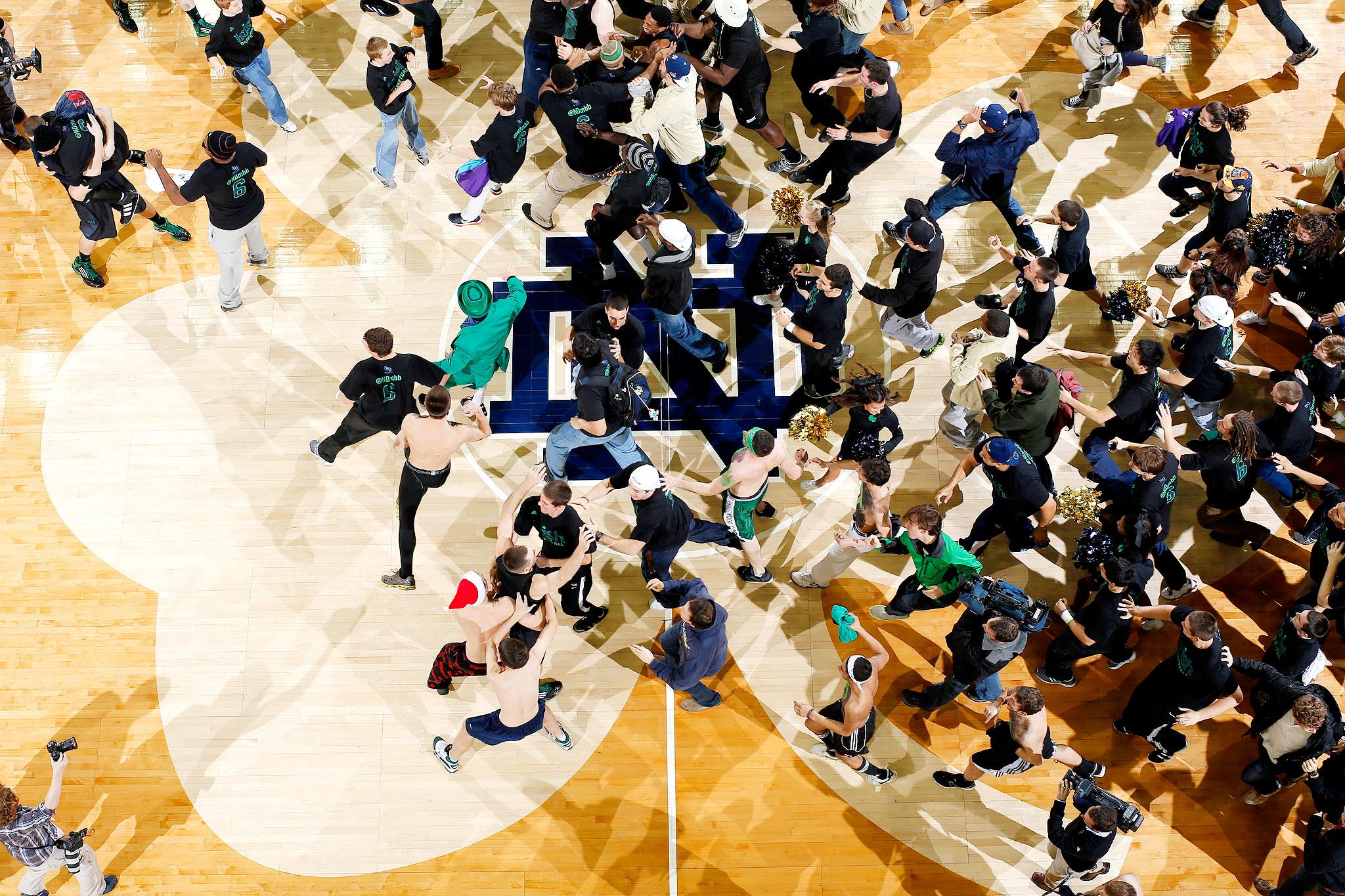 Notre Dame Fighting Irish fans