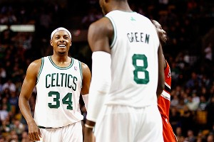 Paul Pierce and Jeff Green