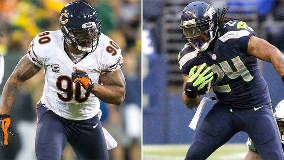 Julius Peppers/Marshawn Lynch