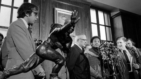 Woody Hayes, Archie Griffin and the Ohio State Buckeyes