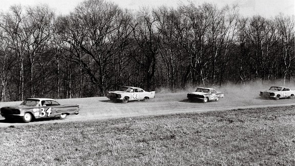 Wendell Scott racing in 1961