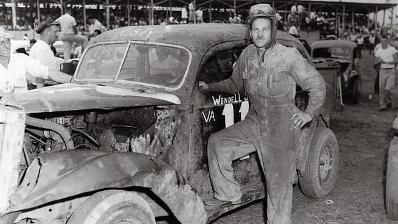 Wendell Scott in his hometown of Danville, Va.