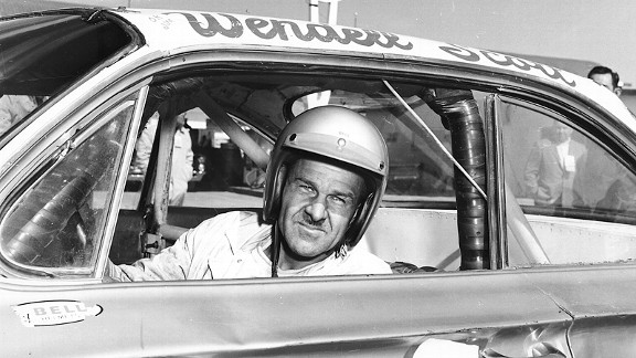 Wendell Scott, after becoming the first black driver to win a NASCAR race