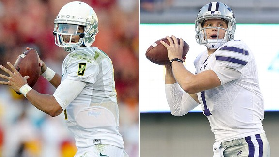 Marcus Mariota, Collin Klein