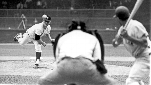 Denny McLain with the Detroit Tigers in 1968