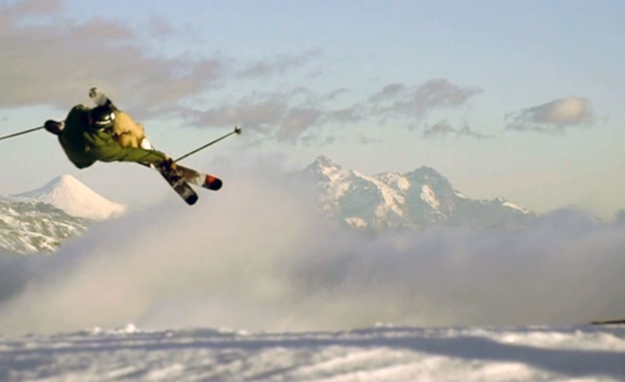 The Salomon Freeski TV crew heads to Chile to document skiing, and wind.