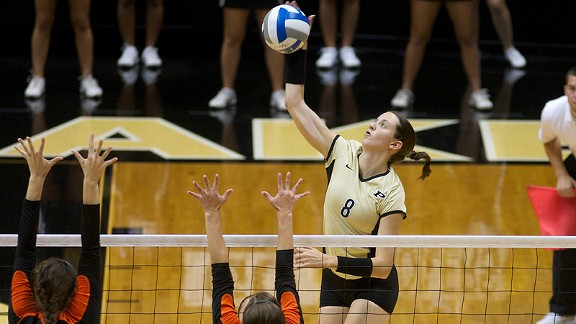Ariel Turner earned first-team All-America honors last year -- the first Boilermaker to do so since 1985.