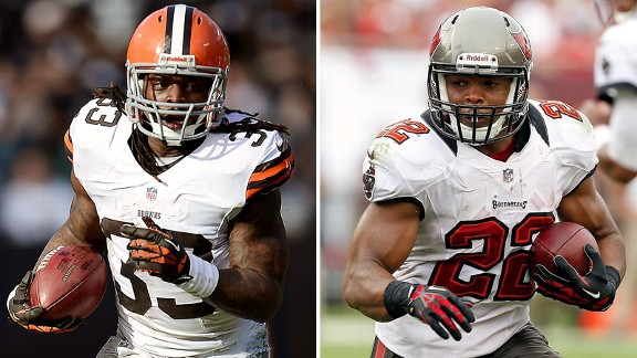 Trent Richardson, Doug Martin