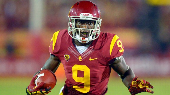 Marqise Lee was an unstoppable force for the Trojans as the Biletnikoff Award-winning sophomore set Pac-12 record for receptions and receiving yards.
