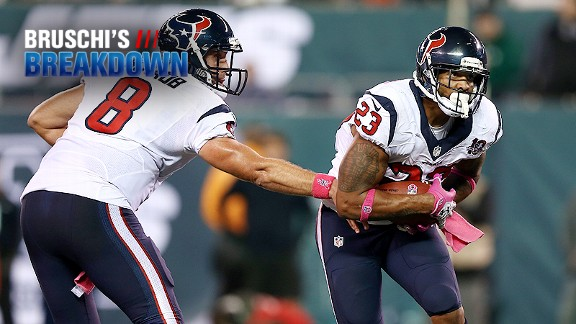 Matt Schaub and Arian Foster