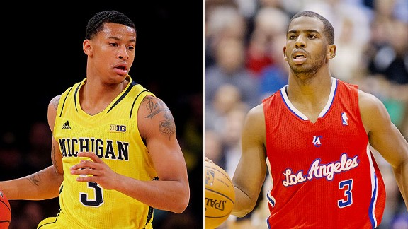 Trey Burke and Chris Paul