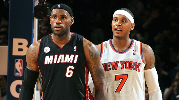 Lebron James/Carmelo Anthony