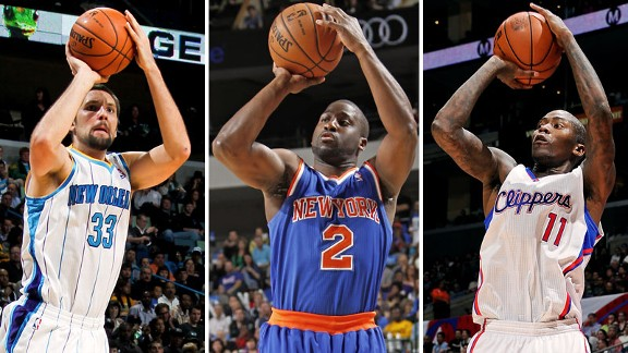 Raymond Felton, Ryan Anderson, Jamal Crawford