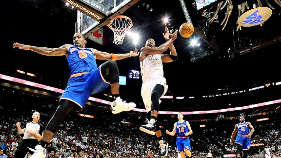Dwyane Wade and J.R. Smith