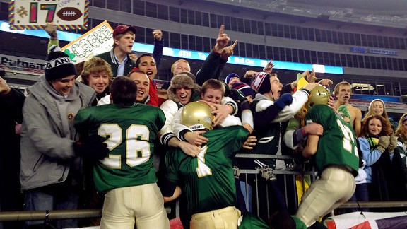 Bishop Feehan celebrates